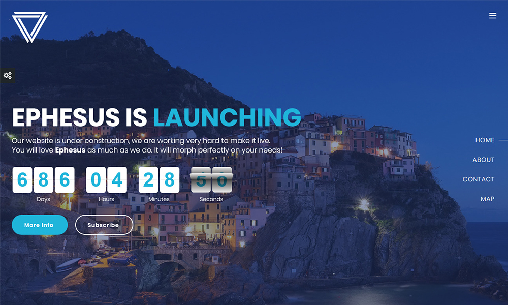 Ephesus - Creative Coming Soon Template