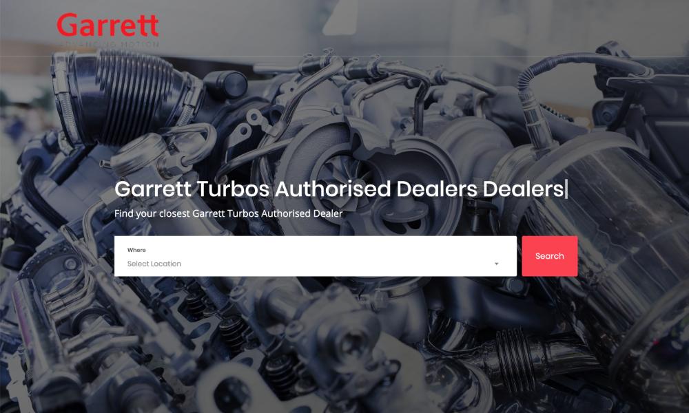 Garrett Turbos Authorised Dealers