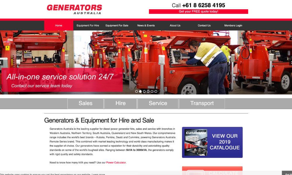 Generators Australia