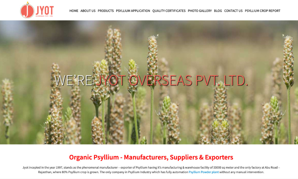 Jyot Overseas Pvt. Ltd.
