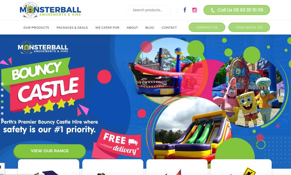 Monsterball- Amusements & Hire