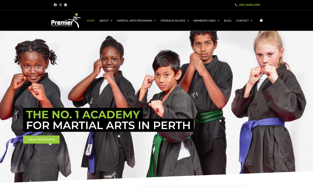 Premier Martial Arts and Fitness Academy