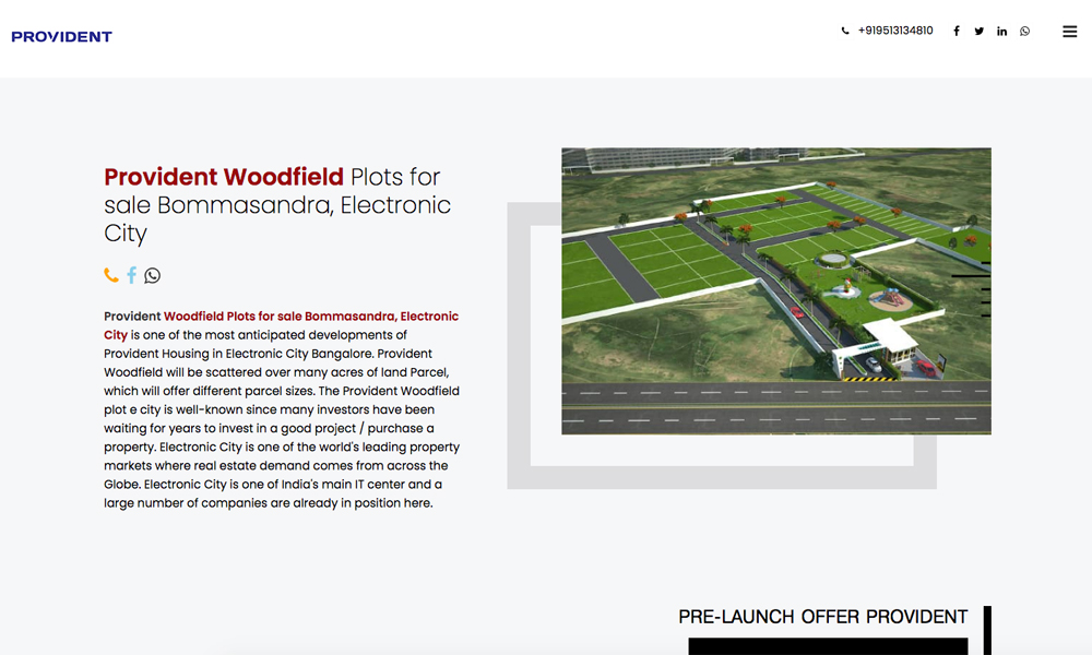 Provident Woodfield Plots