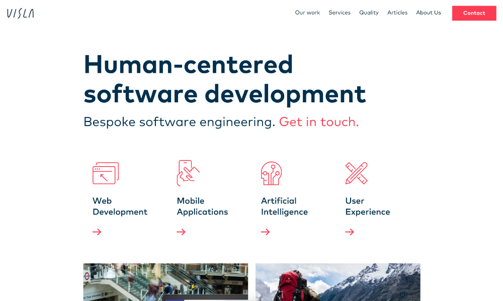 Visla - human-focused software development
