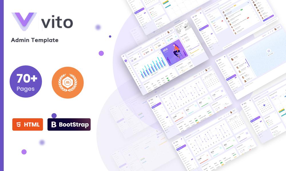 Vito - Bootstrap 4 Admin Dashboard Template