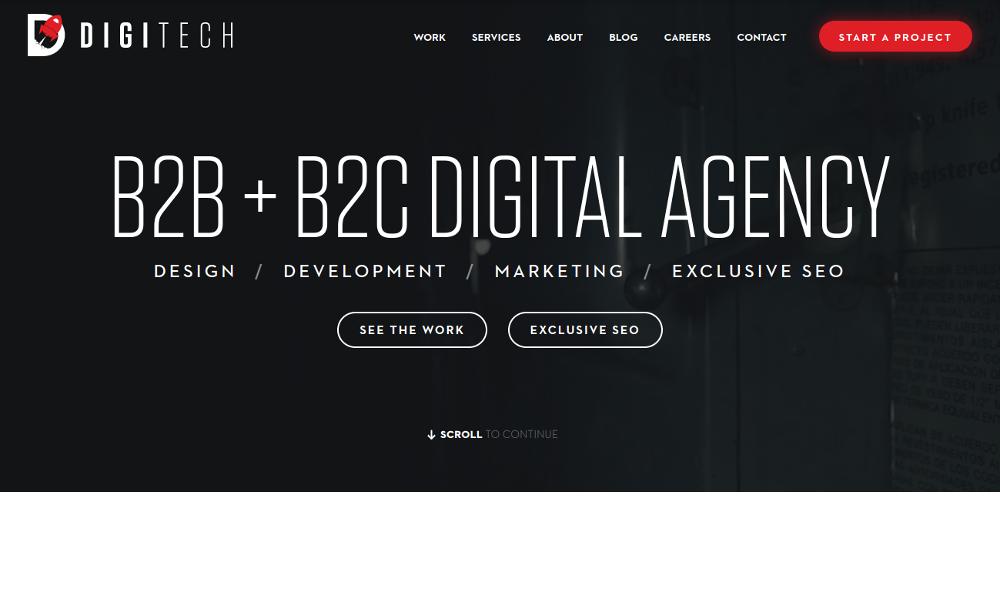 Digitech Web Design Austin