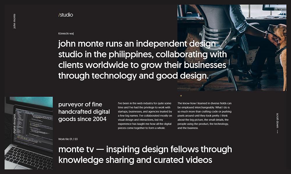 John Monte / Digital Designer