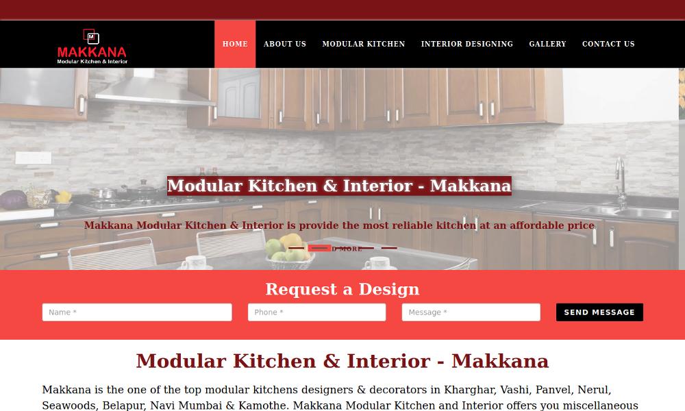 Makkana Modular Kitchen & Interior