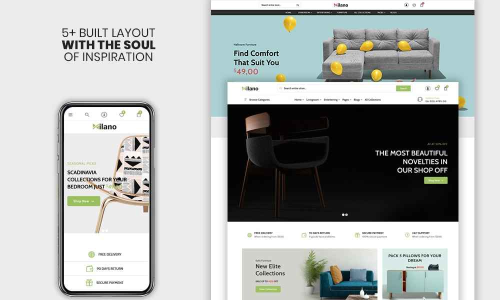 Milano - The Furniture & Interior Premium Shopify Theme