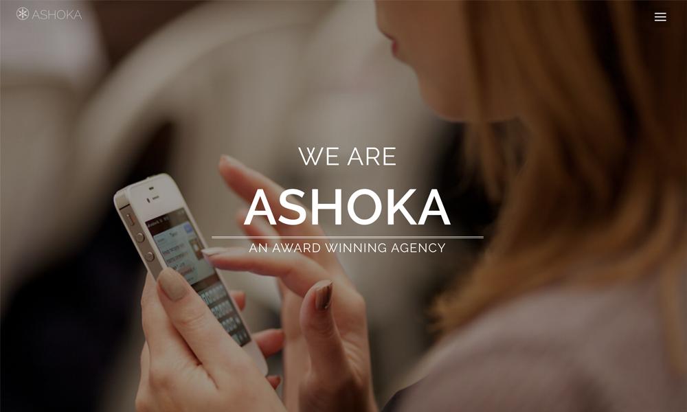 Ashoka – Free Responsive Minimal Multipurpose HTML Theme