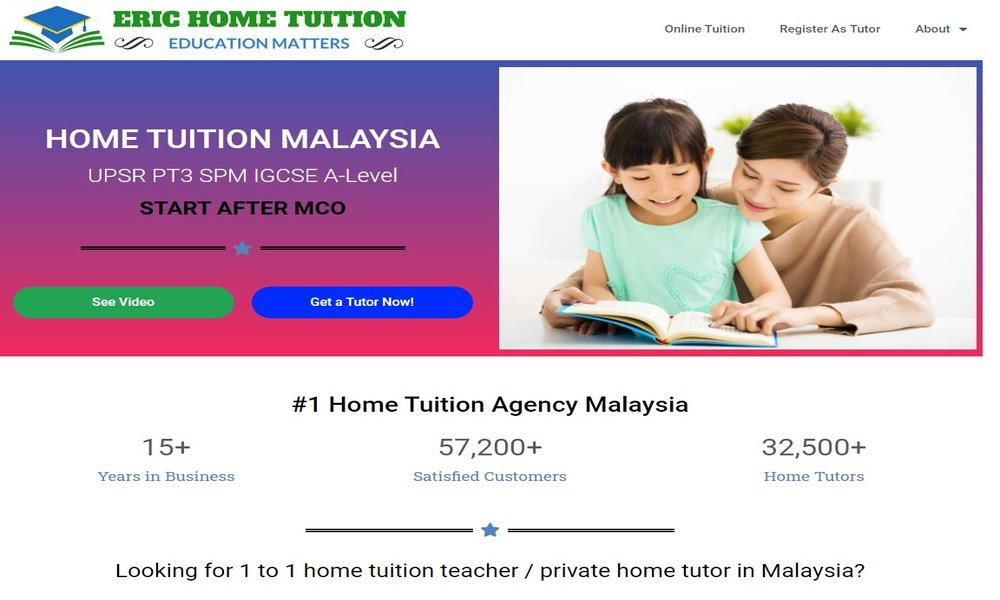 Eric Home Tuition