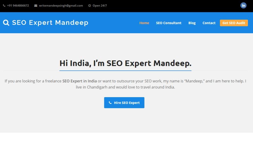 SEO Expert Mandeep