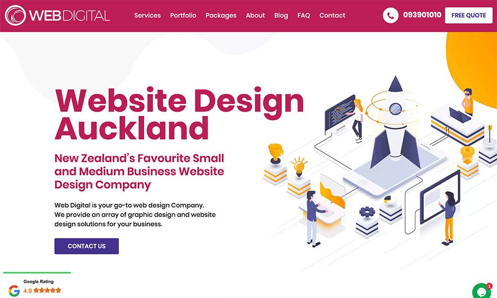 Web Digital Auckland