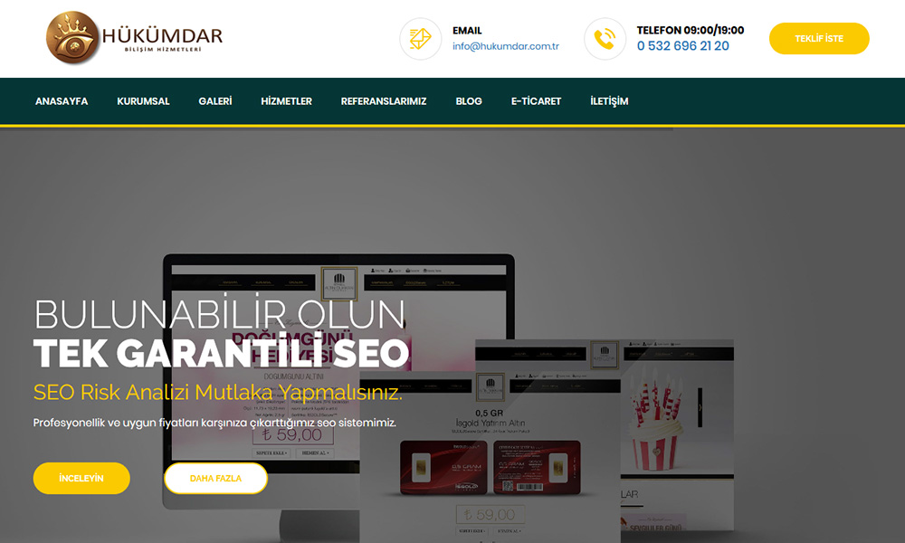 banakitapal.com E-ticaret sitesi