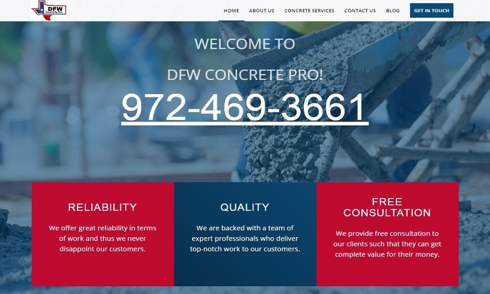 DFW Concrete Pro