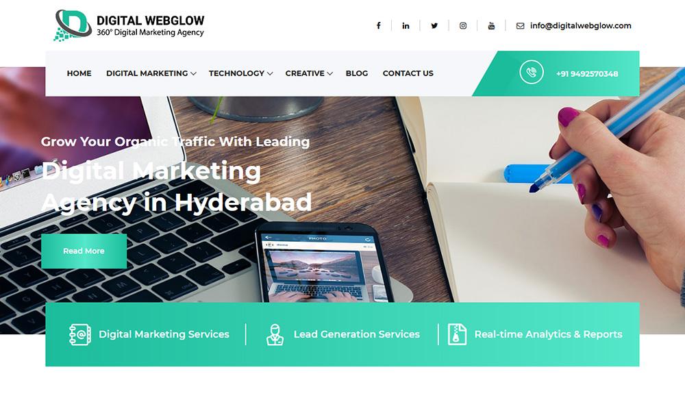 Digital Webglow