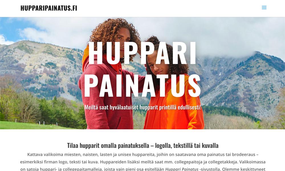 Huppari Painatus