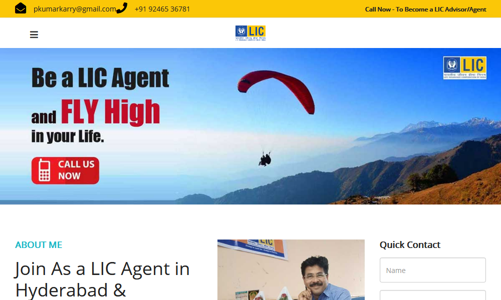 Join as LIC Agent
