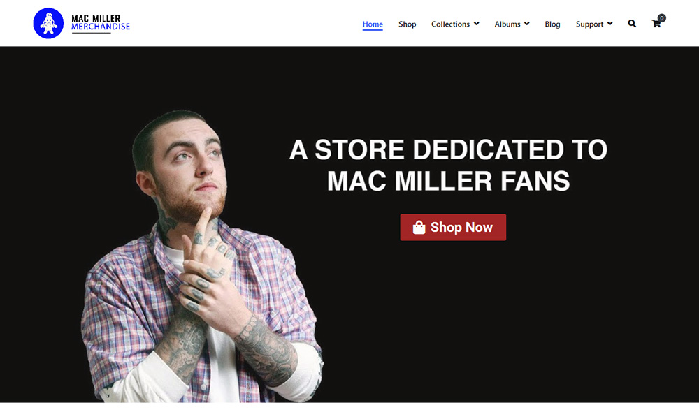 Mac Miller Merch