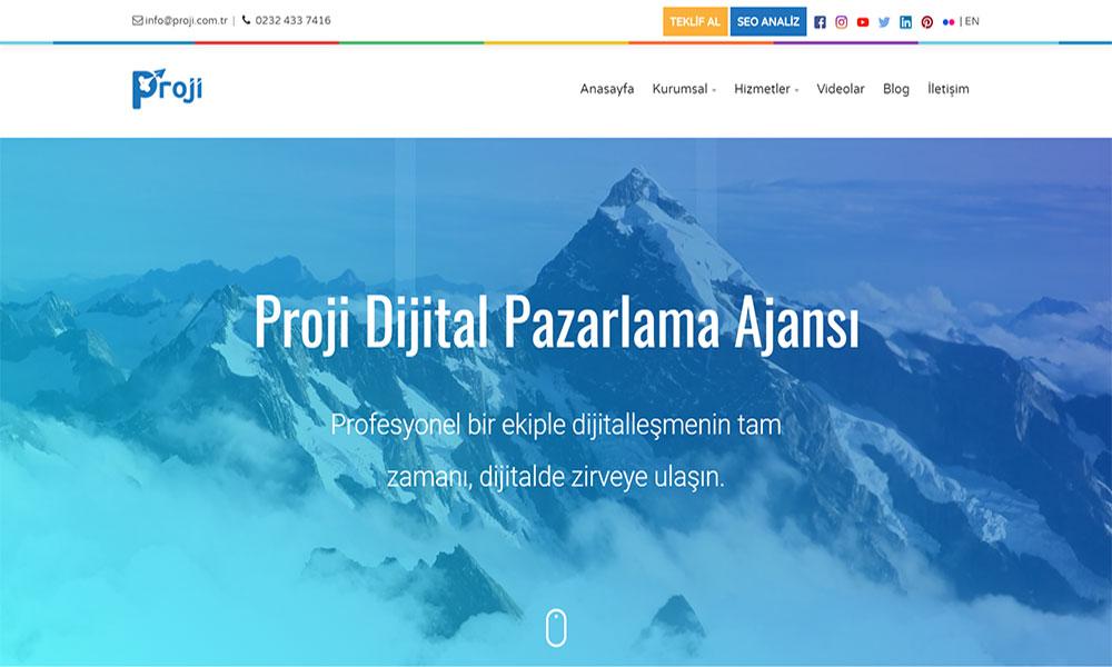Proji Dijital Pazarlama Ajansı