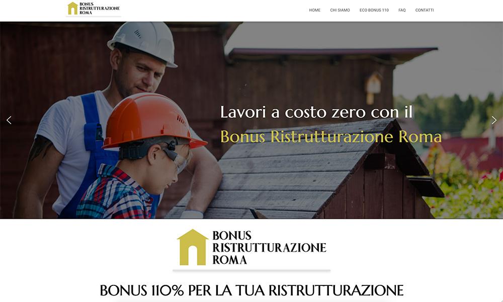 Bonus Ristrutturazioni Roma