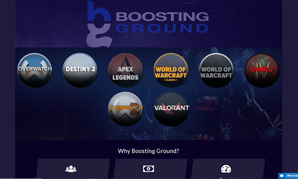 Boosting Ground