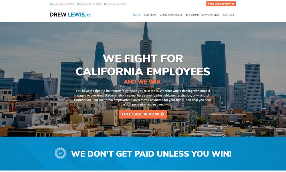 Drew Lewis, PC