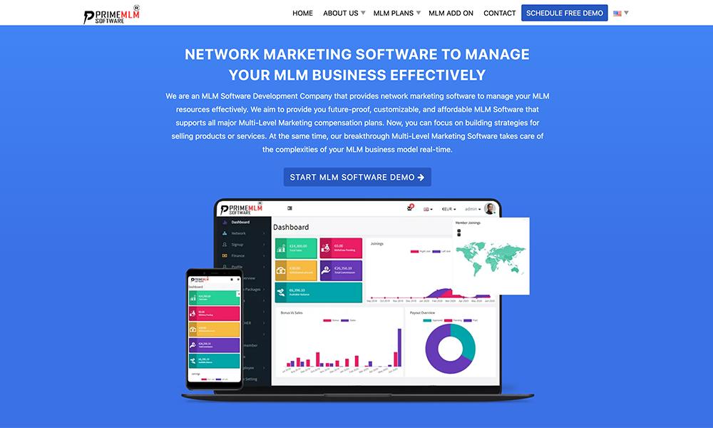 Prime MLM Software