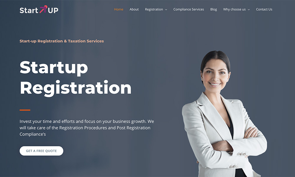 Startup Tegistration