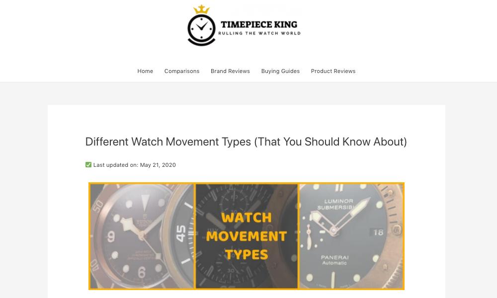 Timepieceking