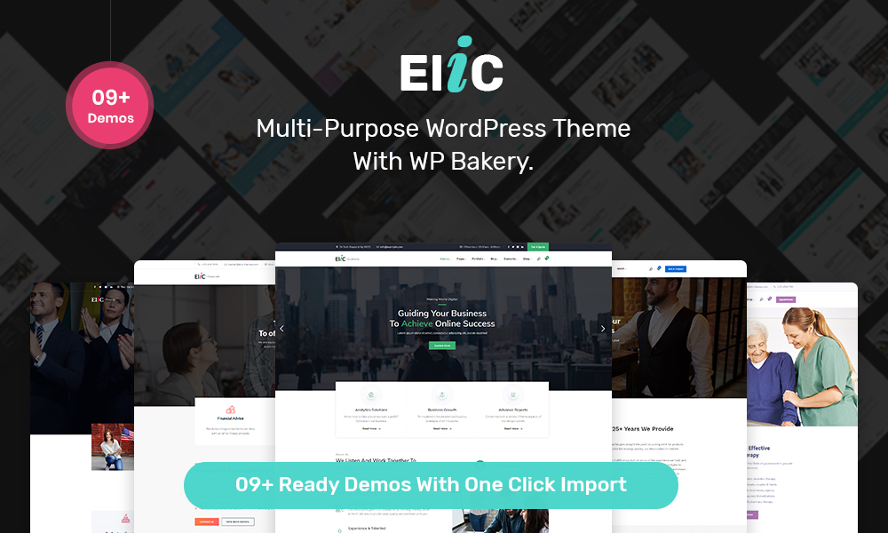 Elic - Creative Multi-Purpose WordPress Theme