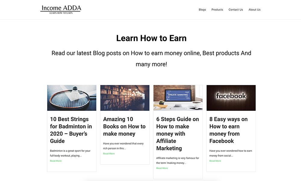 Income ADDA