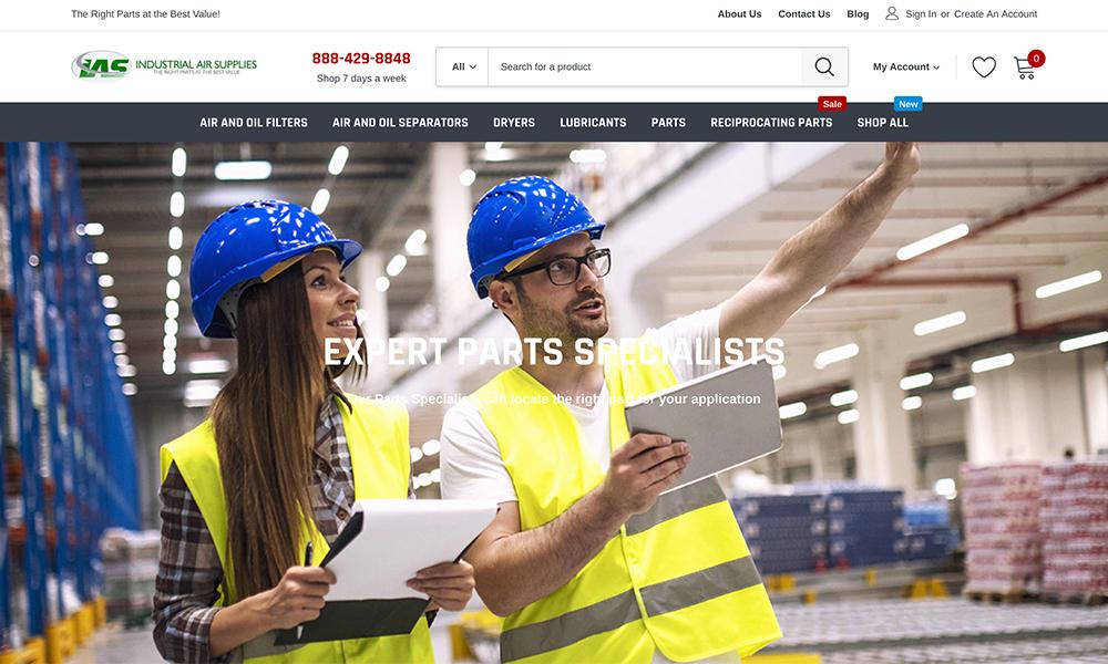 Industrial Air Supplies Parts