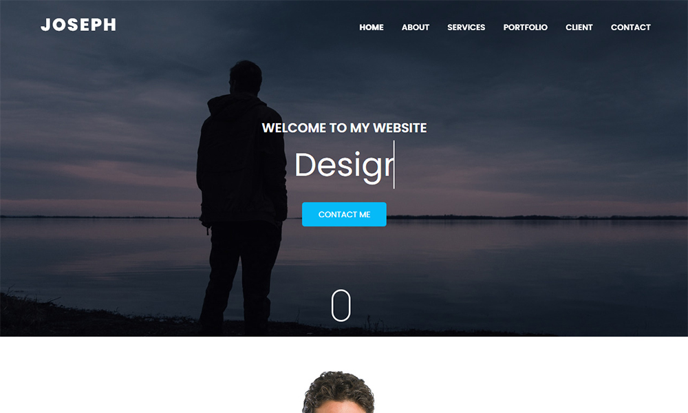 Joseph - Personal Portfolio HTML Template