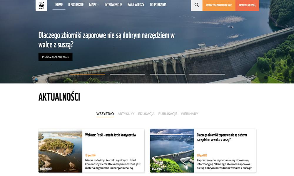 Strażnicy rzek WWF