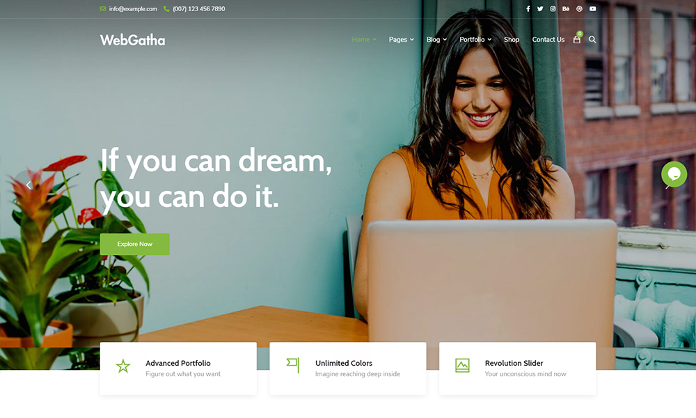 WebGatha - Multi-purpose WordPress Theme