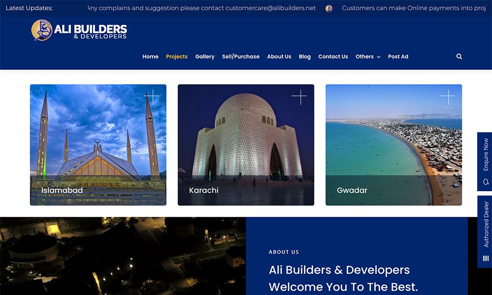 Ali Builders & Developers