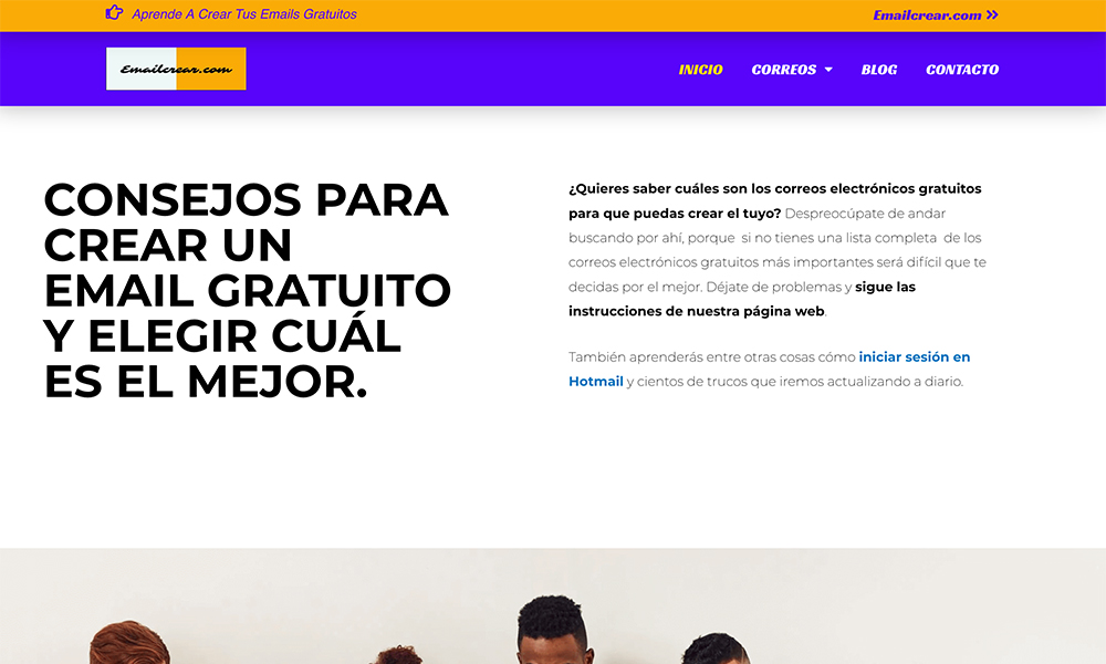 Emailcrear