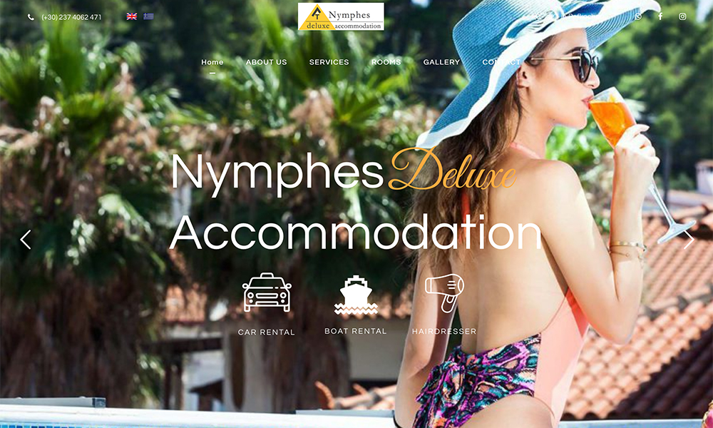 Nymphes Deluxe Accommodation