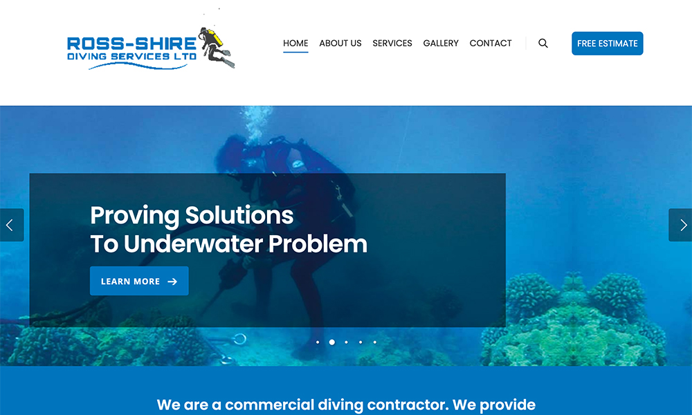 Ross-shire Diving Services Ltd