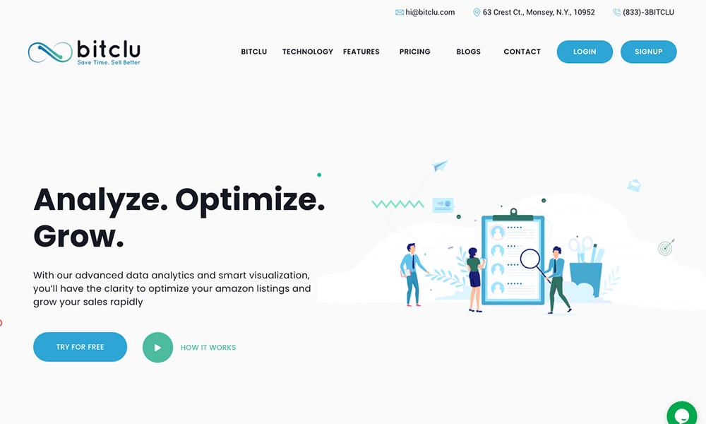 Bitclu Inc - An Amazon Analytics Tool