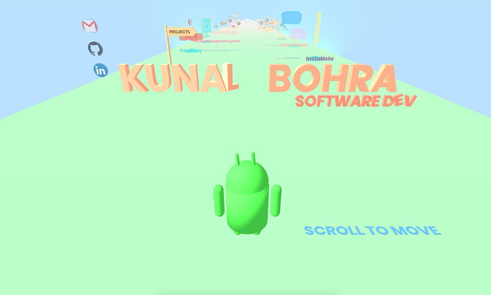 Kunal Bohra 3D portfolio