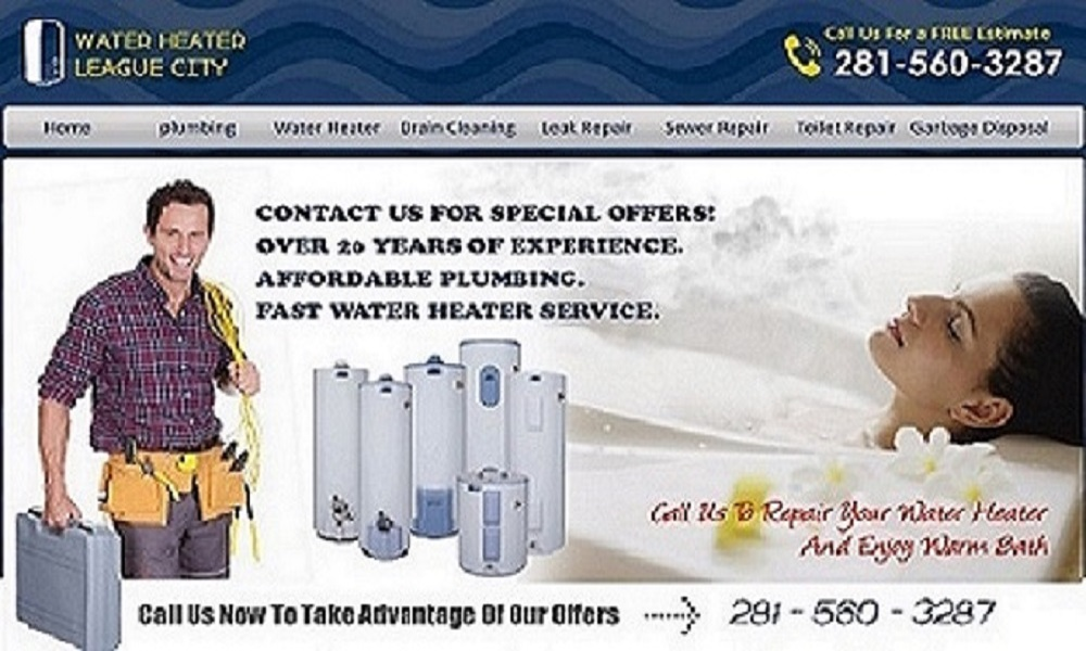 Water Heater League City