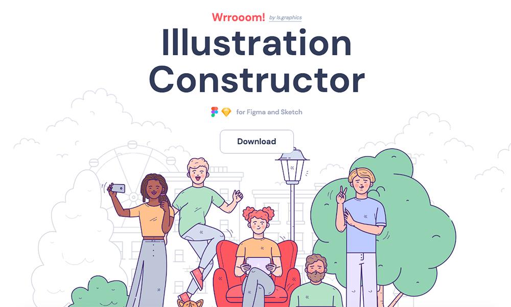 Wrrooom! Illustration Constructor