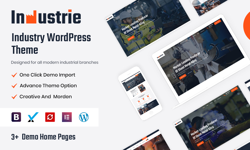 Industrie - Industry WordPress Theme