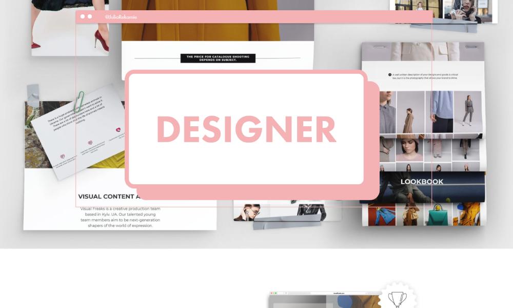 Julia Rekamie | Multidisciplinary Designer