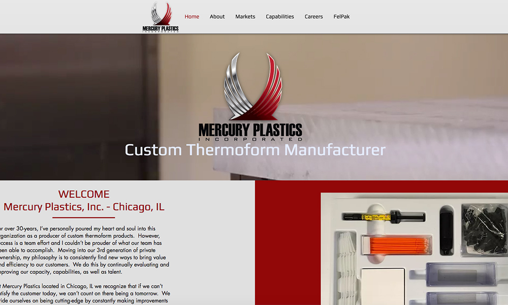 Mercury Plastics Inc