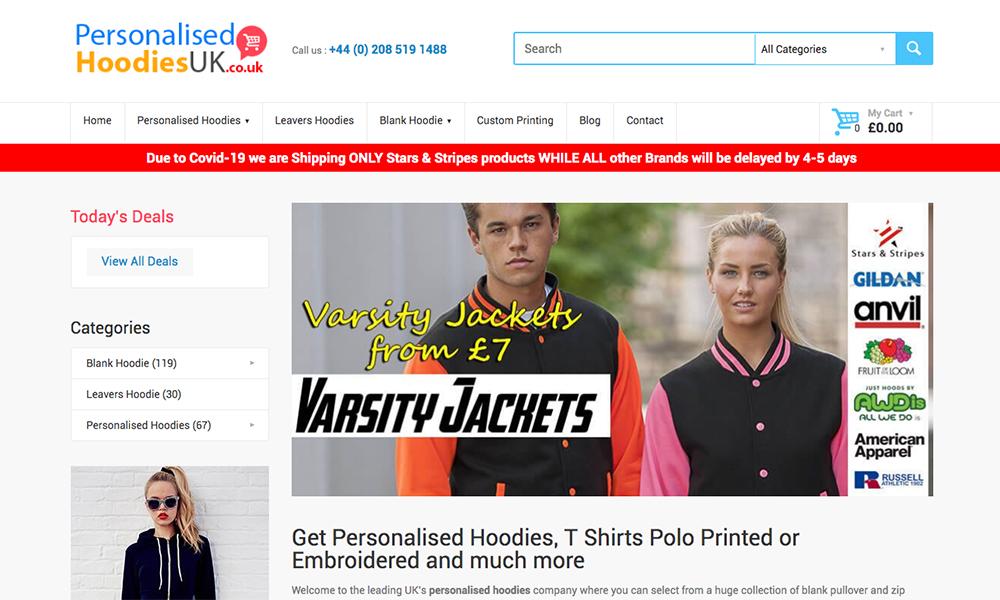Personalised Hoodies UK