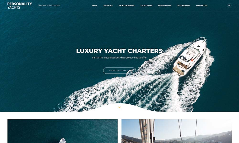 Personality Yachts.
