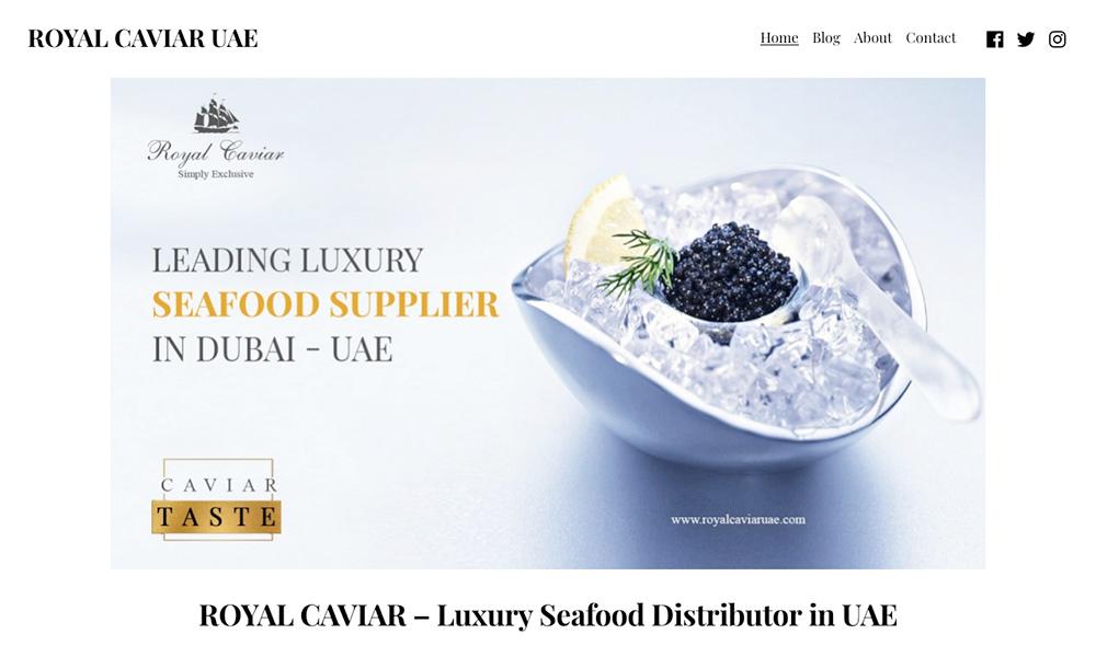 Royal Caviar UAE